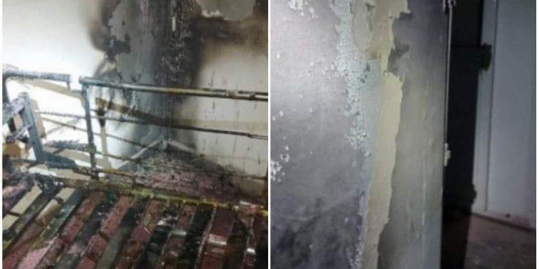 Incendiu la Spitalul de Psihiatrie Socola din Iași!
