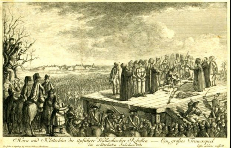 28 februarie 1785 – Povestea tragică a țăranilor răsculați din Apuseni