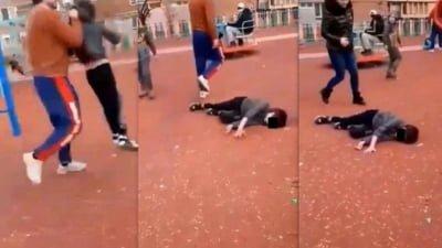 Bărbatul care a trântit copilul de pământ, într-un parc din Hunedoara, a fost trimis în judecată pentru arest preventiv!
