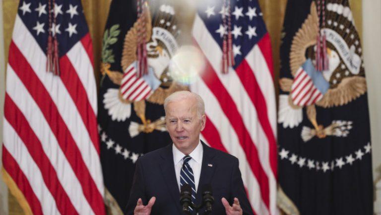 Președintele american Joe Biden a susținut prima conferință de presă de la preluarea mandatului!