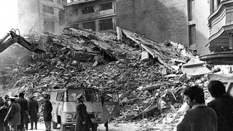 44 de ani de la cutremurul din 1977!