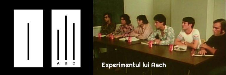 (VIDEO) Experimentul lui Asch – Conformismul de grup