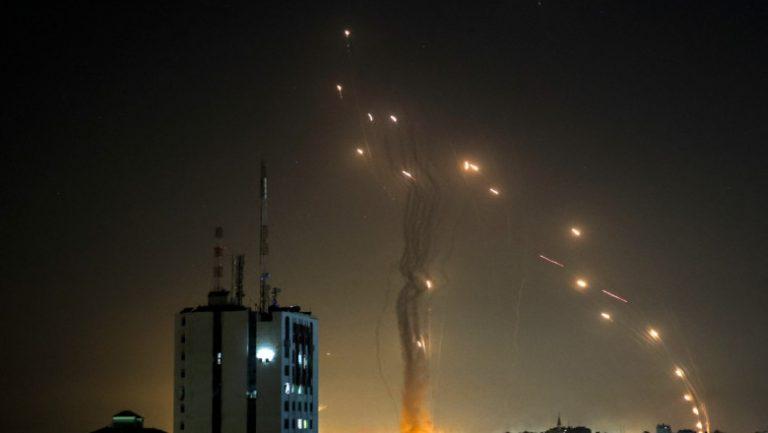 (FOTO/VIDEO) Cum a funcționat scutul antirachetă israelian în timpul atacului de aseară