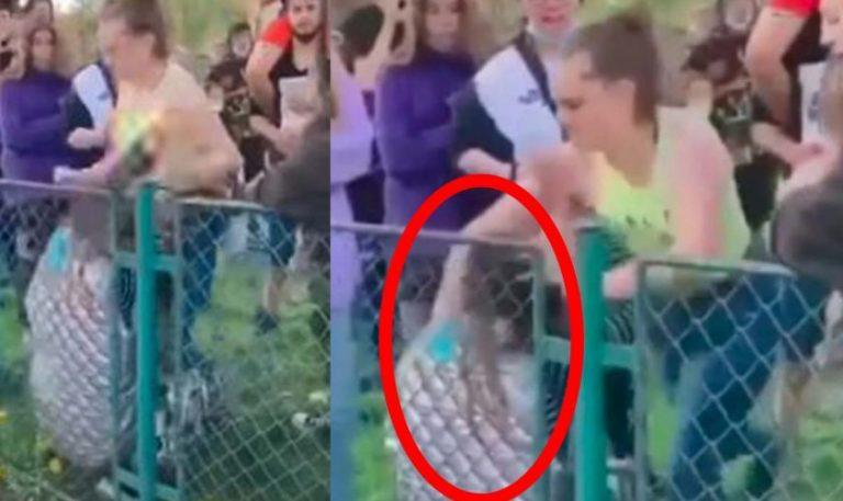 (VIDEO) Adolescentă, bătută și umilită într-un parc din Brașov!
