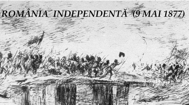 La 9 mai 1877, Mihail Kogălniceanu proclama Independenţa de stat a României