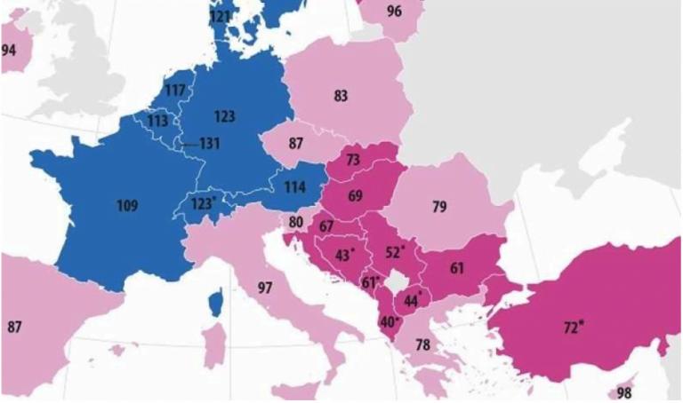 HARTA puterii de cumpărare! Românii, peste unguri, greci și bulgari!