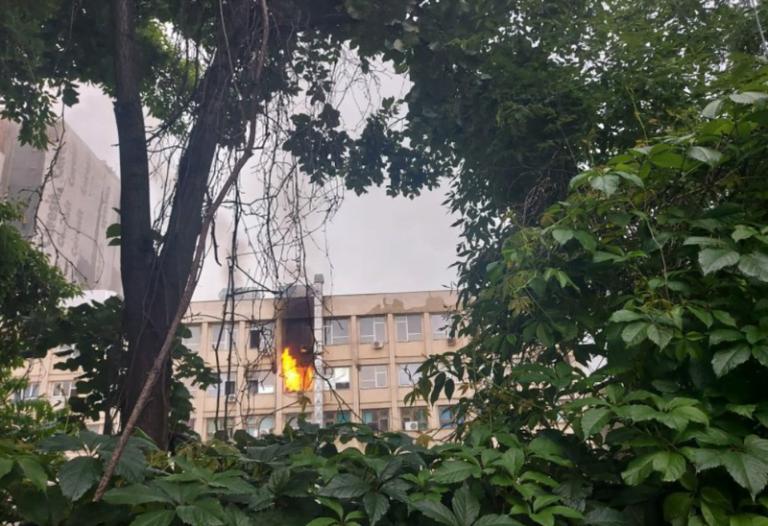 (VIDEO) Incendiu la Spitalul de Copii Sfânta Maria din Iași!