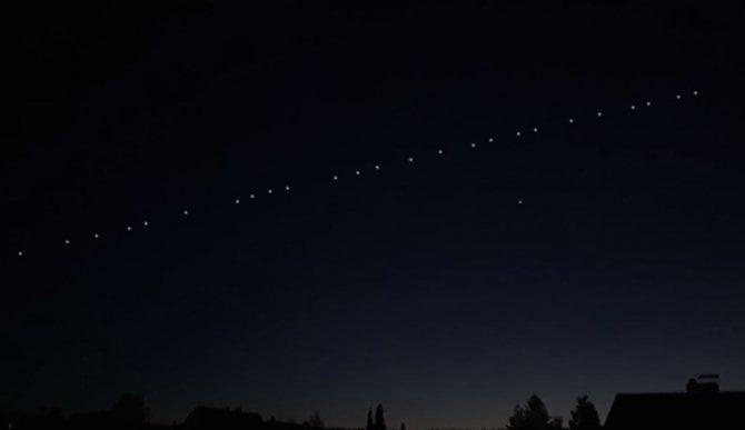 (VIDEO) Mai mulți sateliți Starlink ai SpaceX vor fi vizibili cu ochiul liber în România