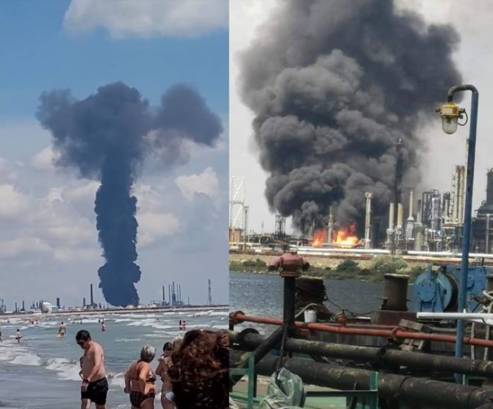 Explozie Năvodari