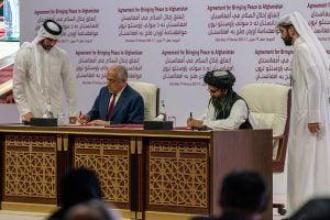 Războiul din Afganistan/ Secretarul Pompeo participă la o ceremonie de semnare la Doha
