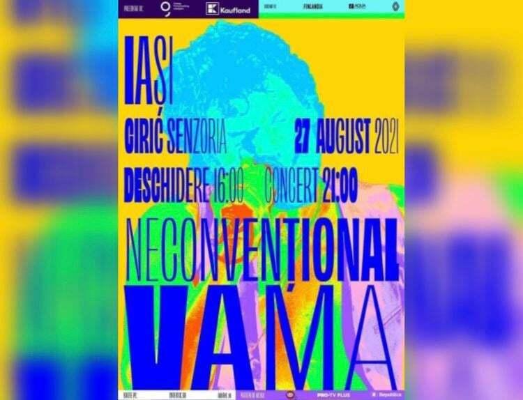 Vama Neconvențional vine la Iași, pe 27 august!