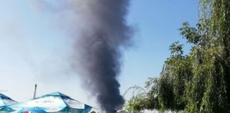 Incendiu puternic Mogoșoaia