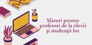 Sfaturi pentru profesori